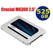 Crucial MX300 525GB SSD【CT525MX300SSD1】2.5吋 SATA 6Gb/s 固態硬碟