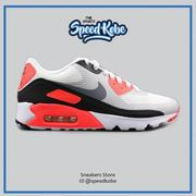 ☆SP☆Nike Air Max 90 Ultra Essential 白黑橘 灰勾 網布 透氣 819474-106