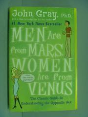 【書寶二手書T8/兩性關係_IKY】Men Are from Mars, Women Are from Venus_JO