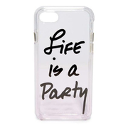 Rebecca Minkoff Life Is A Party iPhone7 4.7 保護殼 透明色 香港行貨