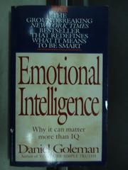 【書寶二手書T2/原文小說_JPJ】Emotional intelligence_Daniel goleman