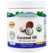 [iHerb] [iHerb] Fruitrients Coconut Oil, 100% Pure, Extra Virgin, 16 oz