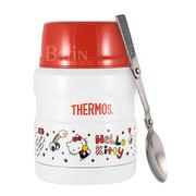 【THERMOS 膳魔師】Hello Kitty 不鏽鋼真空保溫食物罐 0.47L (SK3000KT-WH)
