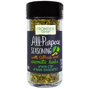 [iHerb] Frontier Natural Products, All-Purpose Seasoning, With Citrus and Aromatic Herbs, 1.20 oz (34 g)