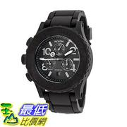[美國直購] Nixon A309000-00 Women's Rubber 42-20 Chrono Black Rubber Black Dial