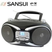 福利品-SANSUI山水CD/MP3/USB/SD/AUX手提式音響(SB-88N)