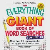 The Everything Giant Book of Word Searches: More Than 300 New Puzzles for the Biggest Word Search Fans!