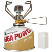 Snow peak Gigapower Stove GS-100 不鏽鋼小型瓦斯爐