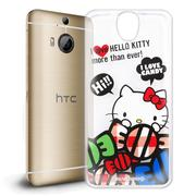 【Hello Kitty】HTC One E9 plus E9+ 透明 手機軟殼(糖果HI)