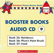 Phonics Booster Books Audio CD 09 (Book 25-27)