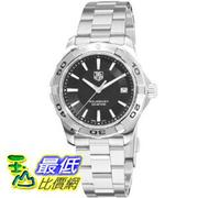 [美國直購 ShopUSA] TAG 手錶 Heuer Men's WAP1110.BA0831 Aquaracer Black Dial Watch $47099