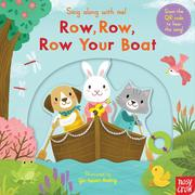 Sing Along With Me! Row,Row,Row Your Boat 划船歌 童謠歌唱操作書(英國版)