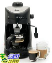 [美國直購 ShopUSA] 咖啡機具用品 新款全新 Capresso 303.01 Mini-S 4-Cup Safety Espresso/Cappuccino_TC01 $3498