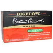 [iHerb] [iHerb] Bigelow Black Tea, Constant Comment, Decaffeinated, 20 Tea Bags, 1.18 oz (33 g)