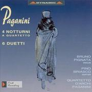 魔鬼的柔情 – 帕格尼尼:夜曲與二重奏 Nicolo Paganini: 4 Nocturnes / 6 Duets / Quartet No. 7 (arr. for string quartet) (CD)【Dynamic】