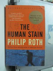 【書寶二手書T9/原文小說_OSL】The Human Stain_Philip Roth