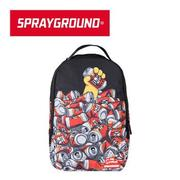 【SPRAYGROUND】DLX COLLABS 聯名系列 The Simpsons Duff Cans Stacked 辛普森喝啤酒潮流筆電後背包