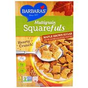 [iHerb] Barbara's Bakery Multigrain Squarefuls Cereal, Maple Brown Sugar, 12 oz (340 g)