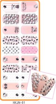 Kitty Bling Nail Skin指甲貼#51