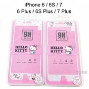 Hello Kitty玻璃保護貼 iPhone 7 / 7 Plus / iPhone 6 / 6 Plus / 6S / 6S Plus【三麗鷗正版授權】