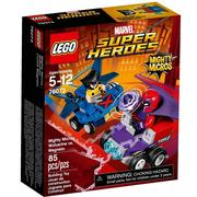 樂高積木 LEGO《 LT76073 》SUPER HEROES 超級英雄系列 - Mighty Micros: Wolverine vs. Magneto