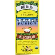 [iHerb] [iHerb] The Tea Room Chocolate Fusion, Milk Chocolate, Piña Colada, 1.8 oz (51 g)