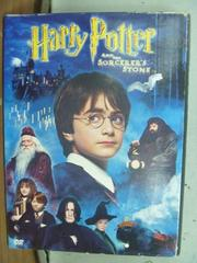 【書寶二手書T8/影視_HNE】Harry Potter and the Sorcerers Stone_附光碟