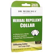 Dr. Mercola, Herbal Repellent Collar for Large Dogs, One Collar, 1.5 oz (42.52 g)
