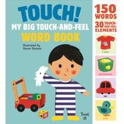 Touch! My big touch-and-feel word book觸摸書現貨