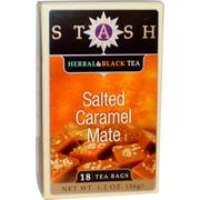 [iHerb] Stash Tea, Herbal & Black Tea, Salted Caramel Mate, 18 Tea Bags, 1.2 oz (36 g)
