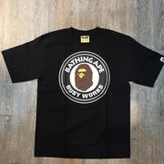☆J-Chao☆ A BATHING APE BUSY WORKS TEE 猿人 黑色 現貨