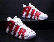 Nike Air More Uptempo Black Pippen 紅白 情侶款