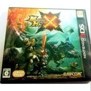 N3DS魔物獵人X. MHX. monster hunter X 日規機
