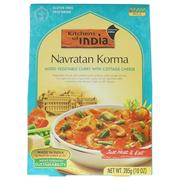 [iHerb] Kitchens of India, Navratan Korma, Mixed Vegetable Curry with Cottage Cheese, Mild, 10 oz (285 g)