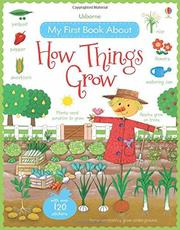 Usborne My First Book About How Things Grow 貼紙書 *夏日微風*