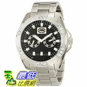 [104美國直購] Marc Ecko Men's E13561G2 The Henly Silver Black Classic Analog Watch
