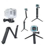 waterproof housing case / monopod / tripod for action camera polaroid cube diving / surfing / universal polycarbonate