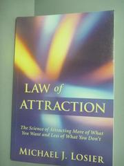 【書寶二手書T9/科學_YHJ】Law of Attraction: The Science of Attracting