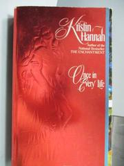 【書寶二手書T9/原文小說_IBQ】Once in Every Life_Kristin Hannah