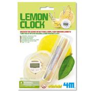 【4M 創意 DIY】Lemon Clock 檸檬時鐘