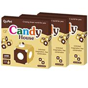 【QuPet】Candy House 糖果屋(3入)