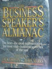 【書寶二手書T2/財經企管_WFM】The business speaker's almanac