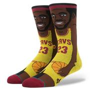 ☆J-Chao☆Stance artoon collection LeBron James_YEL