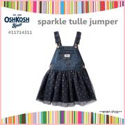 Enen Shop @OshKosh B'gosh 閃亮薄紗愛心吊帶裙 ∥12M/18M/24M/2T/3T