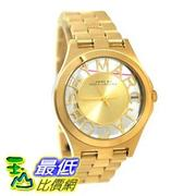 [103美國直購] Marc by 手錶 March Jacobs Henry Skeleton Gold Tone Link Watch MBM3292 $7423