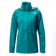 (女)The North Face HV 防水外套綠CKV6EY3-