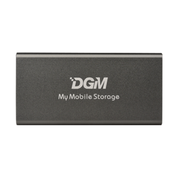 DGM My Mobile Storage Portable SSD 512GB 固態硬碟 太空灰色 (MMS512SG) 香港行貨