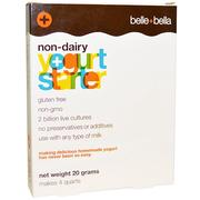 [iHerb] [iHerb] Belle+Bella Non-Dairy Yogurt Starter, 4 Packets, (5 g) Each