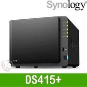 Synology群暉DS415+ 4Bay保固,網路儲存伺服器(DS916+,DS216j,DS716參考)