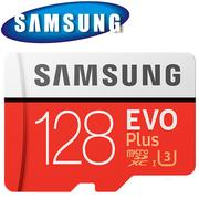 Samsung 三星 128GB 100MB/s EVO Plus microSDXC TF UHS-I U3 記憶卡
